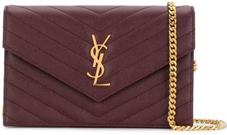 Saint Laurent Envelope chain clutch bag