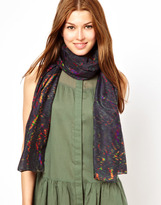 Front Row Society Unfathomable Night Scarf By Charlotte Collin
