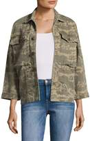 Current/Elliott Current Elliott Women's Militia Camo Jacket