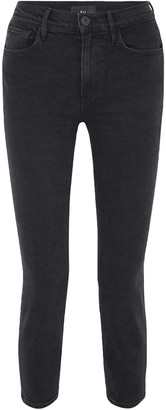 3x1 W4 Colette Cropped High-rise Slim-leg Jeans
