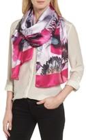 Ted Baker Women's Neon Poppy Long Silk Scarf
