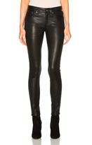 Rag & Bone Skinny LB Pants in Black.