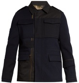 Valentino Multi-patch Point-collar Field Jacket