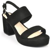 Steve Madden Reba - Suede Platform Sandal