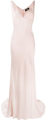 DSQUARED2 Lorraine V-neck gown