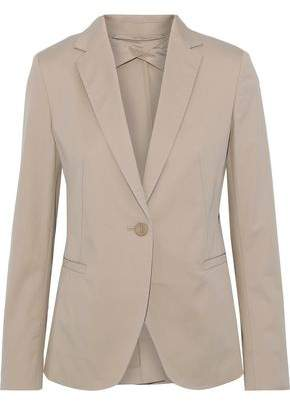 Max Mara Stretch-cotton Twill Blazer