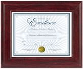 Bed Bath & Beyond 8.5-Inch x 11-Inch Document Wood Frame in Executive Mahogany