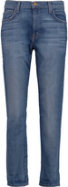 Current/Elliott The Tomboy low-rise straight-leg jeans