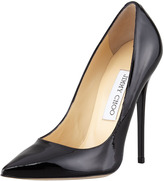 Thumbnail for your product : Jimmy Choo Anouk Patent Point-Toe Pump