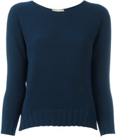 Cruciani boat neck jumper - women - Cotton - 46