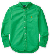 Ralph Lauren Childrenswear Garment Dyed Oxford Shirt