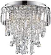 Marquis by Waterford Bresna 3 Light Flush Ceiling Fitting