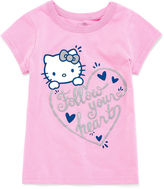 Hello Kitty Graphic T-Shirt-Toddler Girls