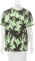 Fausto Puglisi Palm Tree Print Short Sleeve T-Shirt