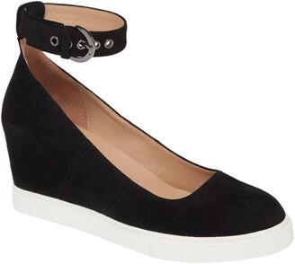 Linea Paolo Marta Ankle Strap Wedge Sneaker