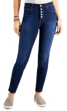 Style&Co. Style & Co 5-Button Curvy-Fit Jeans, Created for Macy's