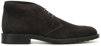 Tod's Desert Lace-Up Ankle Boots