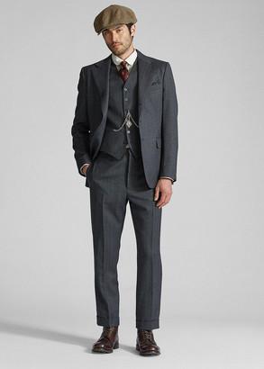 Ralph Lauren Wool Flannel Suit Jacket
