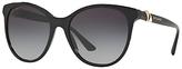 Bvlgari BV8175B Embellished Oval Sunglasses