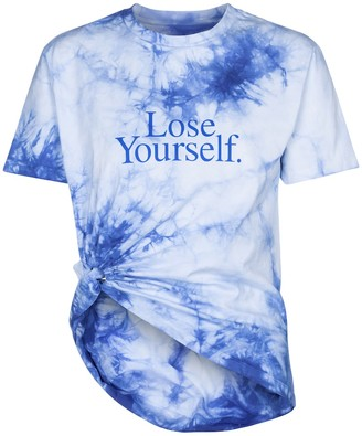 Paco Rabanne Tie-dye cotton T-shirt