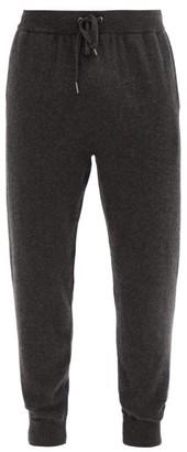 Derek Rose Finley Cashmere Track Pants - Grey