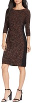Lauren Ralph Lauren Petites Animal Print Dress