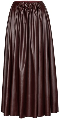 Roksanda Pola faux leather skirt