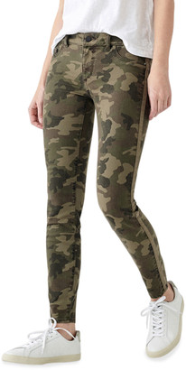 DL1961 Florence Camo-Print Ankle Skinny Jeans