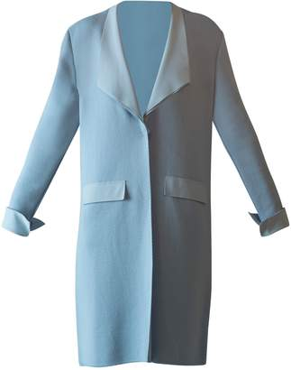Chiara Boni Brady Coat Cloudy Blueee
