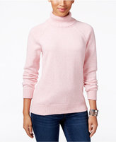 Karen Scott Marled Turtleneck Sweater, Only at Macy's