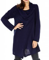 CAPRI MODA - Womens Lightweight Knit Waterfall Cardigan - F144