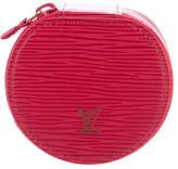 Louis Vuitton Epi Ecrin Bijoux Jewelry Case