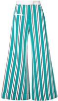 Rosie Assoulin Striped Ribbon Pant