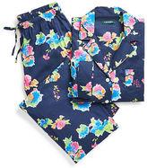 Ralph Lauren Floral Capri Pajama Set