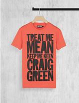 House of Holland Craig Green cotton-jersey t-shirt