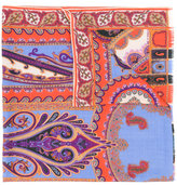 Etro printed cashmere scarf - women - Silk/Cashmere - One Size