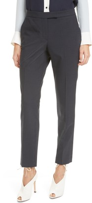 Clive Pinstripe Trousers