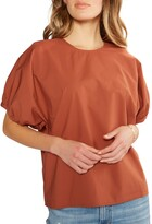 Thumbnail for your product : ÉTICA Tempeste Puff-Sleeve Top