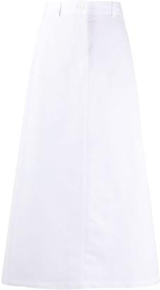 Aspesi A-line midi skirt