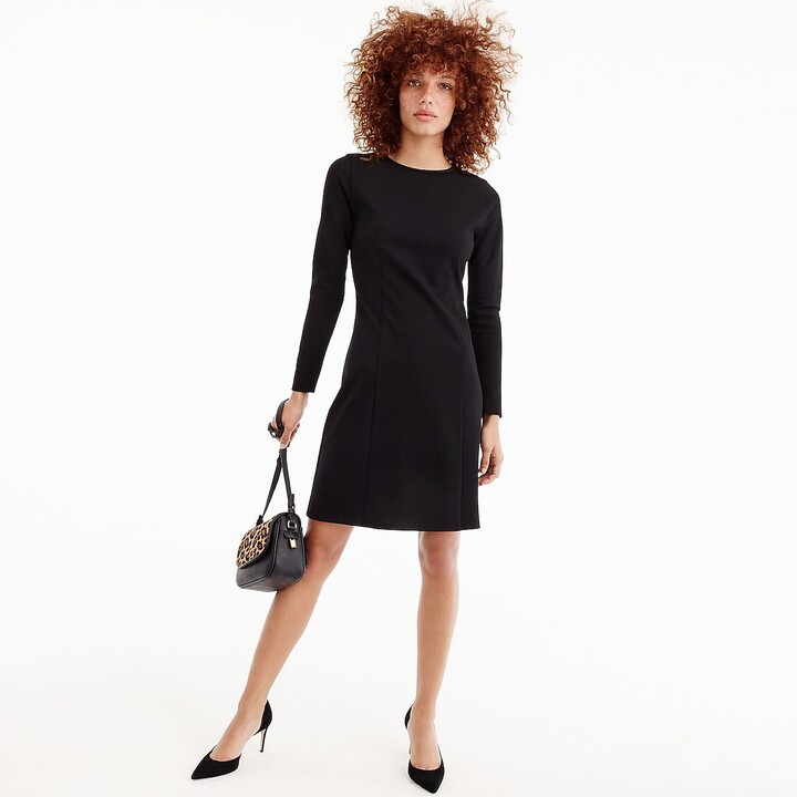 Thumbnail for your product : J.Crew Long-sleeve sheath dress