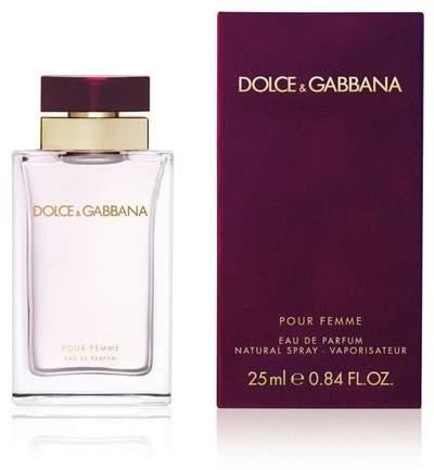 Dolce & Gabbana Pour Femme Eau de Parfum - 25 ml.