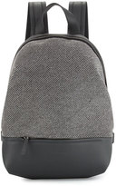 Brunello Cucinelli Diagonal-Monili Medium Backpack, Black Onyx
