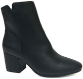 Bamboo Black Upscale Ankle Boot
