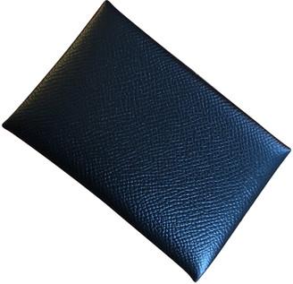 Hermã ̈S HermAs Calvi Black Leather Purses, wallets & cases