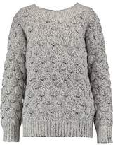 J Brand Camelia Mélange Textured-Knit Sweater