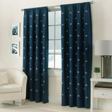 Bed Bath & Beyond Crossed Anchors Rod Pocket Window Curtain Panel