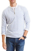 Nautica Slim Fit Quarter Zip Henley