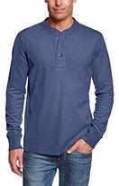 Eddie Bauer Men's 13102596 Plain Button Front Long Sleeve Sweatshirt