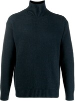 Laneus turtleneck knit sweater