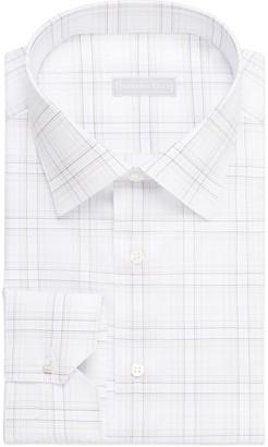 Stefano Ricci Men's Asti Thin Windowpane Sport Shirt